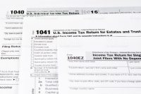 bookkeeping tax form
